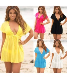Mini Dress Beach Cover Up