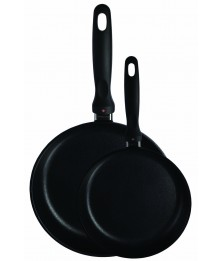 SET 2 PIECES FRYING PANS
